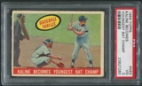 1959 Topps Baseball #463 Al Kaline Becomes Youngest Bat Champ PSA 3 (VG)