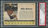 1961 Post Baseball #147 Willie McCovey Perforated PSA 5 (EX)