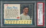 1962 Post Baseball #6 Roger Maris Hand Cut Ad Back (Life Magazine) PSA 3 (VG)