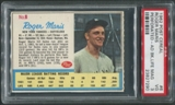 1962 Post Baseball #6 Roger Maris Perforated Ad Back (Life Magazine) PSA 3 (VG)
