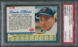 1962 Post Baseball #85 Harmon Killebrew Hand Cut PSA Authentic