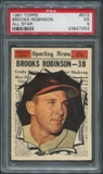 1961 Topps Baseball #572 Brooks Robinson All Star PSA 5 (EX)