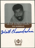 1999 Upper Deck Century Legends #WC Wilt Chamberlain Epic Signatures Auto