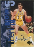 1994/95 Upper Deck #353 Jerry West Then & Now Auto UDA