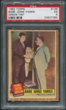 1962 Topps Baseball #136 Babe Ruth Special Babe Joins Yanks Green Tint PSA 5 (EX)