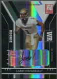 2004 Donruss Elite #163 Larry Fitzgerald Turn of the Century Rookie Auto #107/125