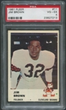 1961 Fleer Football #11 Jim Brown PSA 4 (VG-EX)