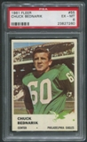 1961 Fleer Football #55 Chuck Bednarik PSA 6 (EX-MT)