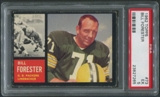1962 Topps Football #73 Bill Forester SP PSA 5 (EX)