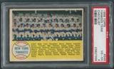 1958 Topps Baseball #246 New York Yankees Team Checklist PSA 4 (VG-EX)