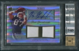 2010 Topps Tribute #ADRRG Rob Gronkowski Dual Jersey Auto #79/99 BGS 9 (MINT)