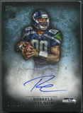 2012 Topps Inception #112 Russell Wilson Blue Rookie Auto #108/150
