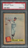 1962 Topps Baseball #141 Babe Ruth Special Twilight Years PSA 5 (EX)