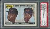 1965 Topps Baseball #16 Rookie Stars Joe Morgan & Sonny Jackson Rookie PSA 6 (EX-MT)