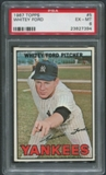 1967 Topps Baseball #5 Whitey Ford PSA 6 (EX-MT)