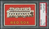 1967 Topps Baseball #604 Boston Red Sox Team PSA 1 (PR)