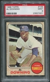 1968 Topps Baseball #105 Al Downing PSA 9 (MINT)