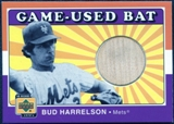 2001 Upper Deck Decade 1970's Game Bat #BBH Bud Harrelson SP /290