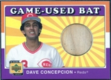 2001 Upper Deck Decade 1970's Game Bat #BDC Dave Concepcion