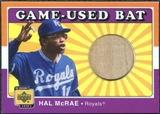 2001 Upper Deck Decade 1970's Game Bat #BHM Hal McRae