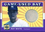 2001 Upper Deck Decade 1970's Game Bat #BRW Roy White