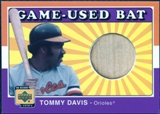 2001 Upper Deck Decade 1970's Game Bat #BTD Tommy Davis