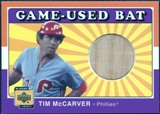 2001 Upper Deck Decade 1970's Game Bat #BTIM Tim McCarver