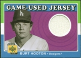 2001 Upper Deck Decade 1970's Game Jersey #JBH Burt Hooton