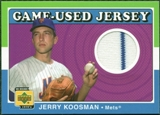 2001 Upper Deck Decade 1970's Game Jersey #JJKO Jerry Koosman