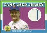2001 Upper Deck Decade 1970's Game Jersey #JTM Tug McGraw
