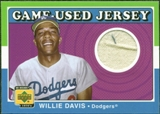 2001 Upper Deck Decade 1970's Game Jersey #JWD Willie Davis