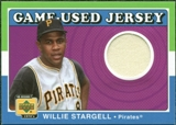 2001 Upper Deck Decade 1970's Game Jersey #JWS Willie Stargell
