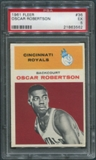 1961/62 Fleer Basketball #36 Oscar Robertson Rookie PSA 5 (EX)