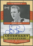 2003/04 Upper Deck Legends #LB Larry Bird Legendary Signatures Auto SP