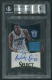 2012/13 Select #270 Anthony Davis Rookie Jersey Auto #087/149 BGS 9 (MINT)