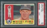 1960 Topps Baseball #35 Whitey Ford PSA 7 (NM)