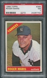 1966 Topps Baseball #365 Roger Maris PSA 7 (NM)