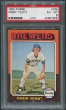 1975 Topps Baseball #223 Robin Yount Rookie PSA 6 (EX-MT)