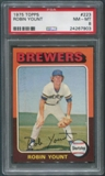 1975 Topps Baseball #223 Robin Yount Rookie PSA 8 (NM-MT)