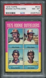 1975 Topps #616 Rookie Outfielders Dave Augustine Pepe Mangual Jim Rice John Scott Rookie PSA 8 (NM-MT)