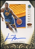 2012/13 Panini Preferred Silhouettes Prime #348 Harrison Barnes RC 13/25