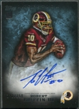 2012 Topps Inception #120 Robert Griffin III Blue Rookie Auto #132/150