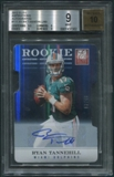 2012 Elite #111 Ryan Tannehill Aspirations Rookie Auto #02/49 BGS 9 (MINT)