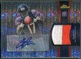 2012 Finest #RAPAJ Alshon Jeffery Pulsar Refractor Rookie Patch Auto #15/25