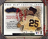 2002 Fleer Showcase Baseball Hobby Box