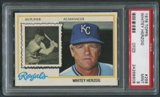 1978 Topps Baseball #299 Whitey Herzog Manager PSA 9 (MINT)