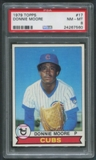 1979 Topps Baseball #17 Donnie Moore PSA 8 (NM-MT)