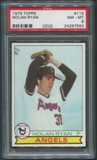 1979 Topps Baseball #115 Nolan Ryan PSA 8 (NM-MT)