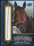 2011 Upper Deck Goodwin Champions Thoroughbred Hair Cuts #SUP Super Saver Vertical