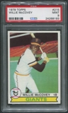 1979 Topps Baseball #215 Willie McCovey PSA 9 (MINT)